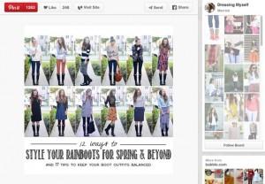 5-Pinterest est un MDR par images - une recherche sur bottes