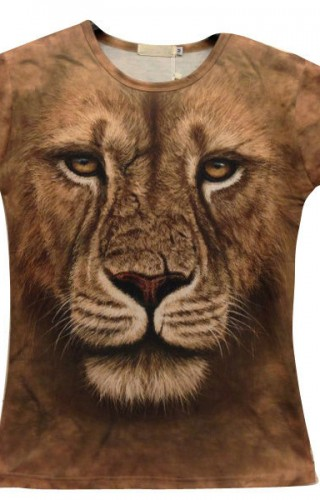 T-shirt imprimé par sublimation