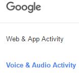 effacer tout votre historique audio de Google