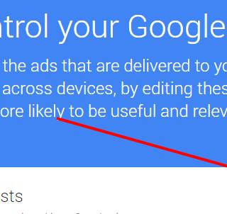 3 votre compte Google paramétrage des publicités