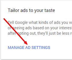 2 votre compte Google paramétrage des publicités