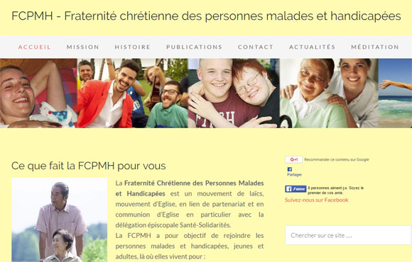 08 – site web d'une association