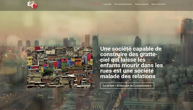 02 – site web économie de communion.fr